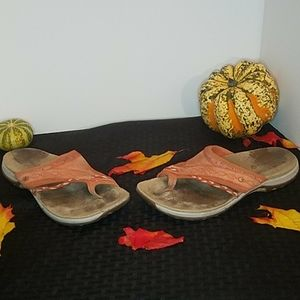 Merrell Women's Leather Toe Thong Sandals Size 9